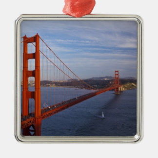 The Golden Gate Bridge from the Marin Metal Ornament