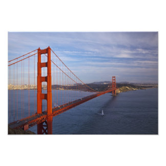 The Golden Gate Bridge from the Marin Photo Print