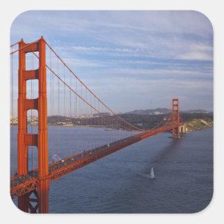 The Golden Gate Bridge from the Marin Square Sticker