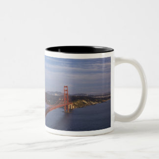 The Golden Gate Bridge from the Marin Two-Tone Coffee Mug