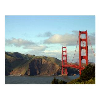 The Golden Gate Bridge Postcard