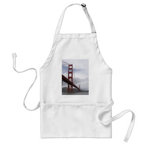 The Golden Gate Bridge San Francisco Adult Apron