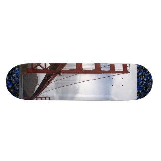 The Golden Gate Bridge San Francisco Skateboard Deck
