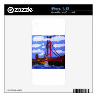 The Golden Gate Bridge Decal For iPhone 4