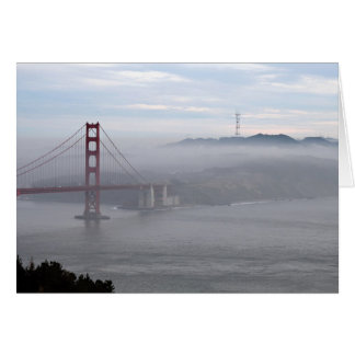 The Golden Gate Greeting Card