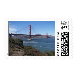 The Golden Gate Postage