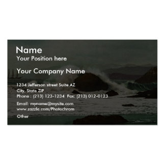The Golden Gate, San Francisco classic Photochrom Double-Sided Standard Business Cards (Pack Of 100)