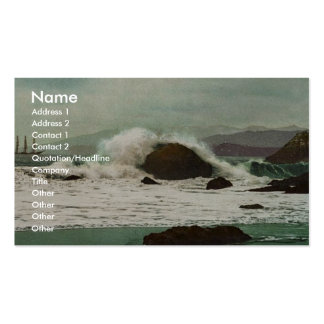 The Golden Gate, San Francisco classic Photochrom Business Card Template