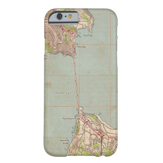 The Golden Gate Topographic Map Barely There iPhone 6 Case