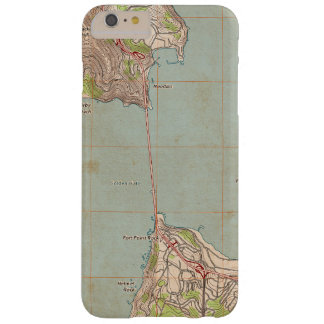 The Golden Gate Topographic Map Barely There iPhone 6 Plus Case