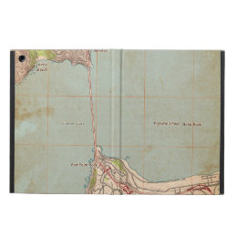 The Golden Gate Topographic Map Case For iPad Air