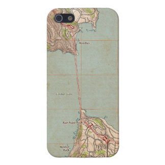 The Golden Gate Topographic Map Case For iPhone SE/5/5s