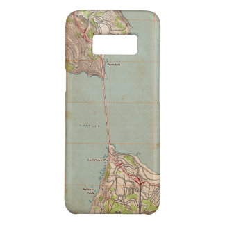 The Golden Gate Topographic Map Case-Mate Samsung Galaxy S8 Case