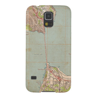 The Golden Gate Topographic Map Galaxy S5 Case