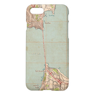 The Golden Gate Topographic Map iPhone 8/7 Case