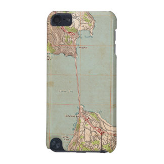 The Golden Gate Topographic Map iPod Touch 5G Case