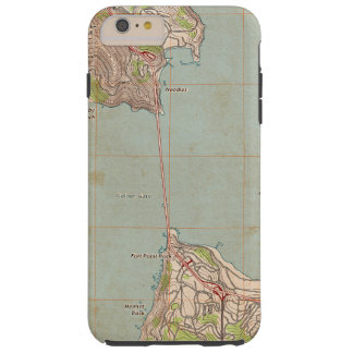 The Golden Gate Topographic Map Tough iPhone 6 Plus Case