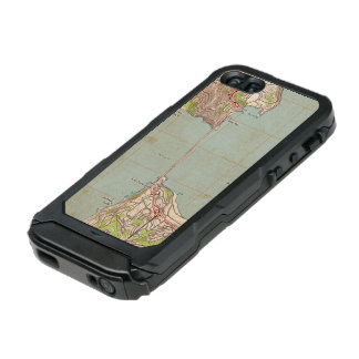 The Golden Gate Topographic Map Waterproof Case For iPhone SE/5/5s