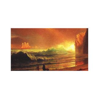 The Golden Gate Vintage San Francisco Canvas Wrap Canvas Prints