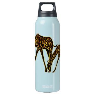 The Golden Giraffe Insulated Water Bottle