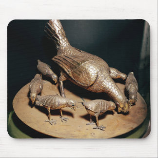 The Golden Hen and her Chicks Mouse Pad