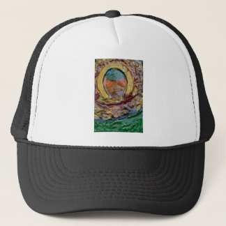 THE GOLDEN HORSE SHOE TRUCKER HAT