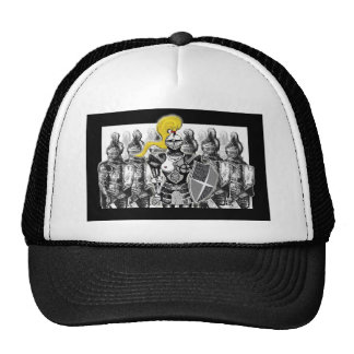 The Golden Knight Trucker Hat