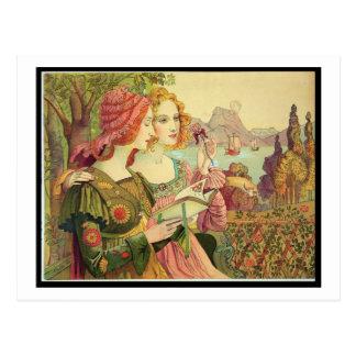 The Golden Legend, 1897, from 'L'Estampe Moderne', Postcard