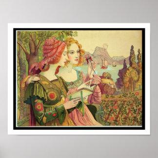 The Golden Legend, 1897, from 'L'Estampe Moderne', Posters