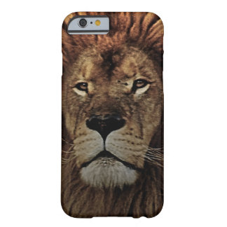 The golden lion barely there iPhone 6 case