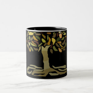 The Golden Magical Tree Mugs