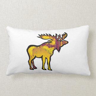 The Golden Moose Lumbar Pillow