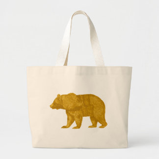 THE GOLDEN ONE LARGE TOTE BAG