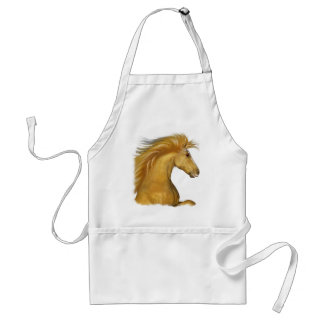 The Golden Palomino Adult Apron
