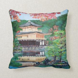 The Golden Pavilion - American MoJo Pillow