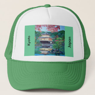 The Golden Pavilion in Kyoto Hat