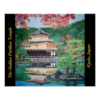 The Golden Pavilion - Poster