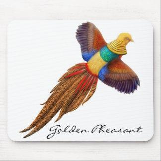 The Golden Pheasant Mousepad