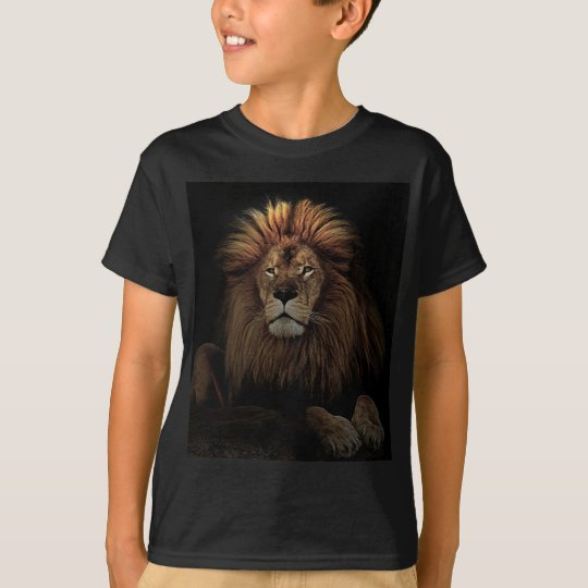 The Golden Proud  Lion Africa T-Shirt