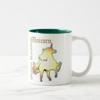 The Golden Rainbow Unicorn Mug