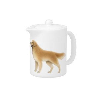 The Golden Retriever Dogs Teapot