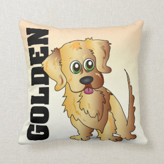 The Golden Retriever Pillow