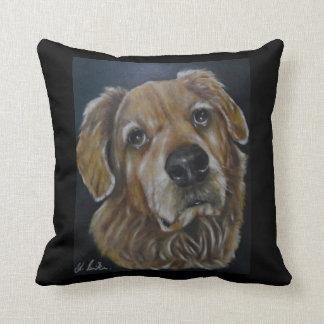 The Golden Retriever - Throw Pillow