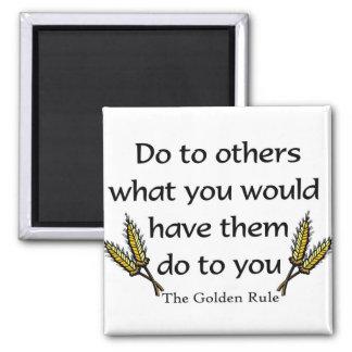 The Golden Rule christian gift item Magnet