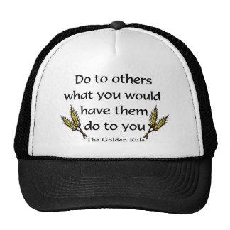 The Golden Rule christian gift item Trucker Hat