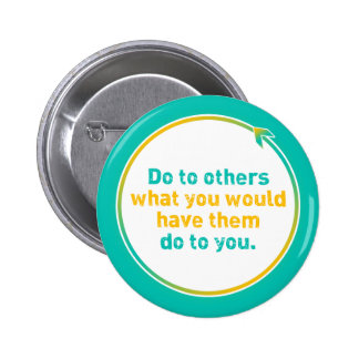 """THE GOLDEN RULE"" PINBACK BUTTON"