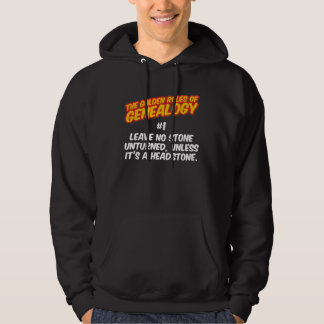 The Golden Rules of Genealogy #1 Hoodie