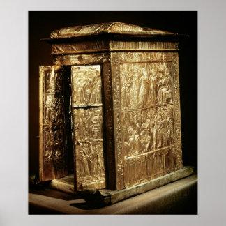 The Golden Shrine of Tutankhamun  New Kingdom Poster
