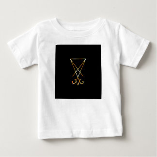The golden sigil of Lucifer Baby T-Shirt