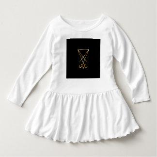 The golden sigil of Lucifer Dress